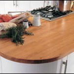 Jak przygotować drewniany blat kuchenny.