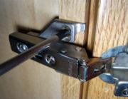 Regulacja drzwiczek