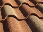 Materiały budowlane - Dachówka cementowa.